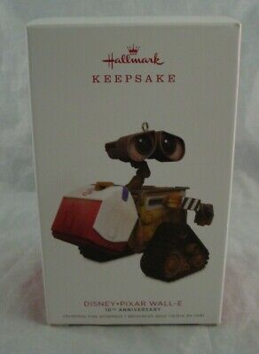 2018 Hallmark Disney Pixar Wall-E 10th Anniversary Ornament New