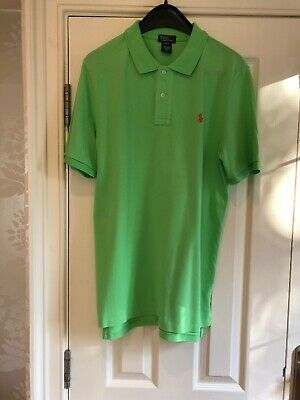 Genuine Ralph Lauren Mens/Boys (XL 16-18yrs) Green Polo Top