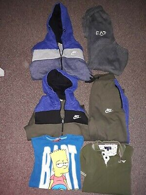 Boys tracksuits and T-shirts age 7/8 years hoody