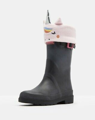 Joules SMILE CHARACTER WELLY SOCKS Unicorn