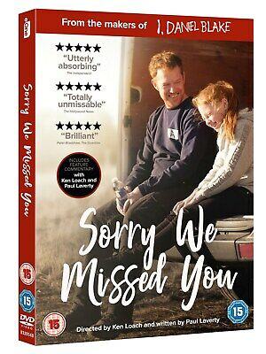 Sorry We Missed You [DVD] RELEASED 09/03/2020