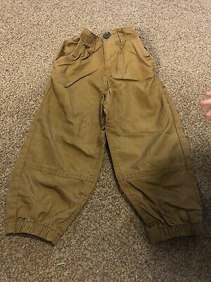 Boys Tan Combat Style Trousers Age 3