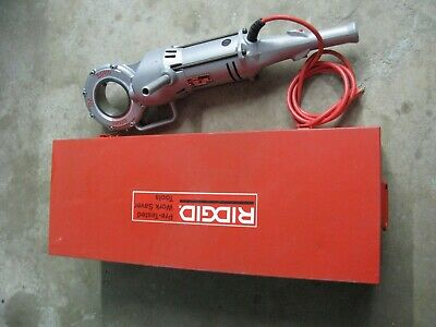 Ridgid 700-T2 Power Drive Pipe Threading Tool With Case