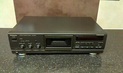Used Technics Rs -Bx501 Cassette  Tape Player Deck
