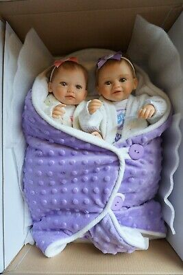 Ashton Drake Faith & Hope Twins as NEW Dolls Excellent Condition