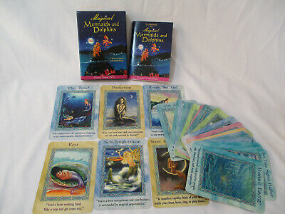 Magical Mermaids and Dolphins 44 Oracle Cards Box Set Tarot Doreen Virtue