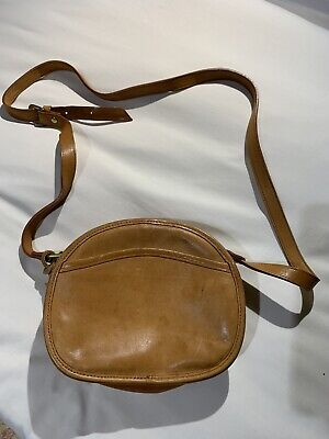 Tula Tan Leather Shoulder Bag, VGC