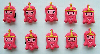 SHOE CHARMS (L5) - inspired by CUTE ADVENTURE CHARACTERS (10A) Pack of 10