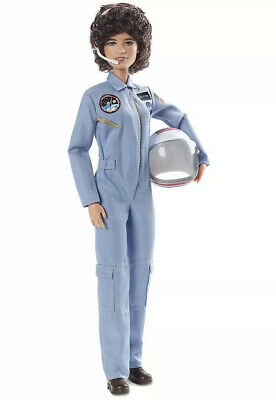 Sally Ride Barbie Inspiring Women American Astronaut Collector Doll Scientist
