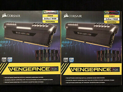 Corsair Vengeance RGB Pro 16GB (2 x 8GB) PC4-24000 (DDR4-3000) Memory...