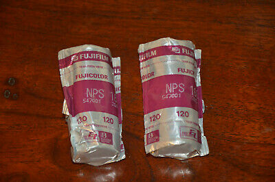Fujifilm Fujicolor NPS 160 - 120 Film - 2 Rolls - SEALED - EXPIRED 2005
