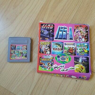 Gameboy Color 155 In 1 Boxed MultiCart Game Cartridge Multi  - Tested & Working