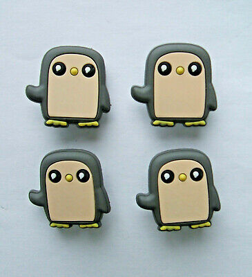 SHOE CHARMS (L5) - inspired by CUTE ADVENTURE CHARACTERS (4E) Pack of 4