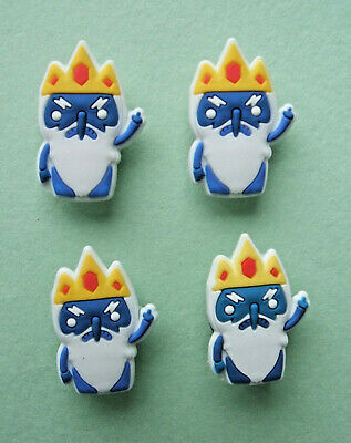 SHOE CHARMS (L5) - inspired by CUTE ADVENTURE CHARACTERS (4F) Pack of 4