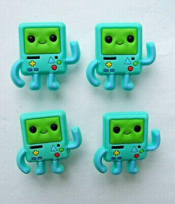 SHOE CHARMS (L5) - inspired by CUTE ADVENTURE CHARACTERS (4J) Pack of 4