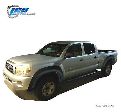Extension Fender Flares Fits Toyota Tacoma 2005-2011 6 Ft Long Bed Textured