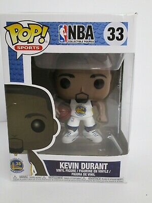 NBA Kevin Durant Vinyl Figure #33 Golden State Warriors FUNKO POP