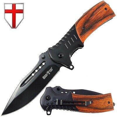 Pocket Knife Spring Assisted Folding Knives - Military EDC USMC Tactical Jack...