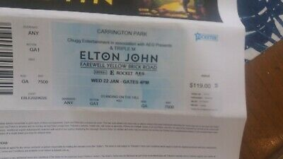 Elton John Tickets Bathurst