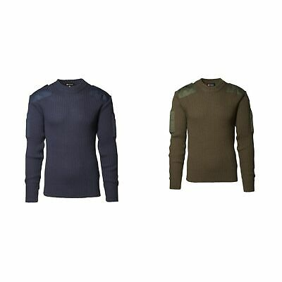ID Mens Army Pullover With Patches (ID129)
