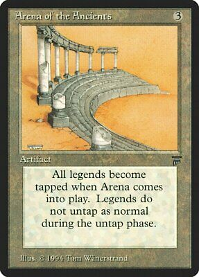 Arena of the Ancients Legends MINT Artifact Rare MAGIC GATHERING CARD ABUGames