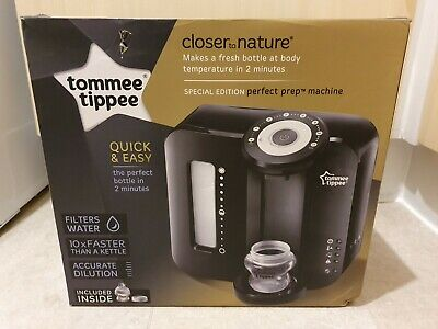 Tommee Tippee Perfect Prep Machine Closer to nature SPECIAL EDITION Black Boxed