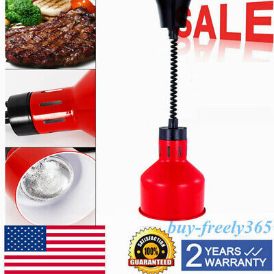 TOP! Food Warmer Heat Lamp Telescopic Heating Light Restaurant Kitchen