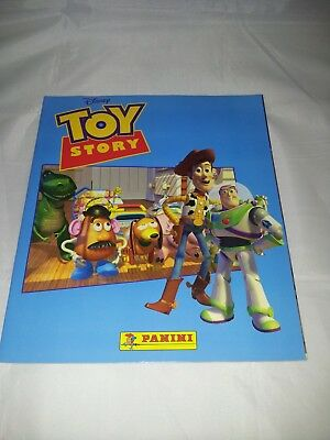 Toy Story : Panini Sticker Album from 1995 : 100% Complete
