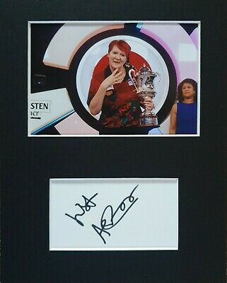 BDO Darts 'Lisa Ashton', hand signed in person mounted autograph.