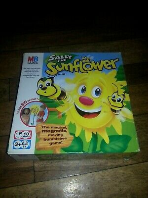 Sally The Sunflower Fun Magnetic Bees Game Kids Toddler Toy Boxed Complete