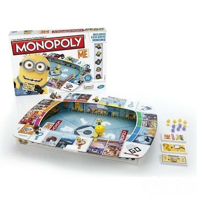 Hasbro Monopoly Game Despicable Me Edition Board Game With Exclusive Minions New