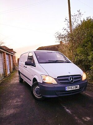 Mercedes-Benz Vito 116 CDI 2.1 with deadlocks, bluetooth, parking sensors