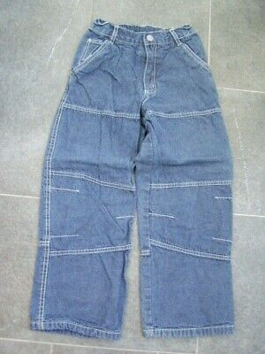 * Coole blaue Worker Thermo Jeans TCM Gr. 128 - Jungs *