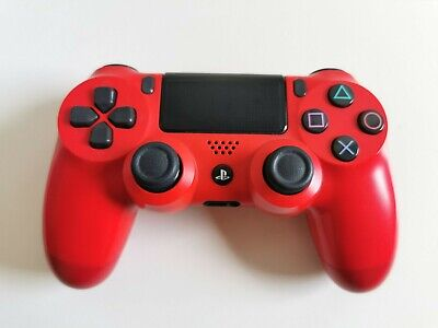 PS4 Sony PlayStation DualShock 4 V2 Wireless Controller - Magma Red