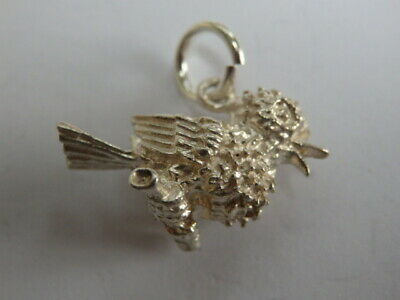Rare Vintage Sterling Silver Charm Cuckoo Clock Hands & Cuckoo Move 3.1 grams