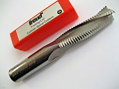 16mm SOLID CARBIDE 3 FLUTED LONG SERIES ROUTER RIPPER RIPPA CUTTER FOR ALI  P26