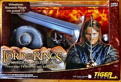 Lord Of The Rings Warrior of Middle Earth Tiger Games Game New Interactive on TV
