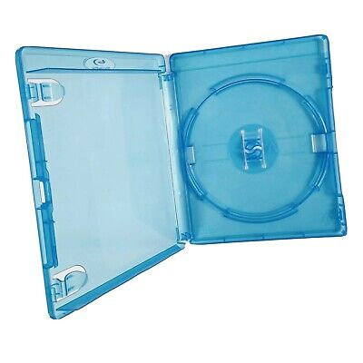 1x Single Standard Blu-ray Disc Empty Blue Replacement Case (14mm Spine) New
