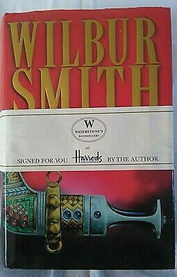 Wilbur Smith - Monsoon - Signed By Author At Harrods Of Knightsbridge