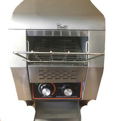 Commercial Conveyor Toaster 300 slices per hour Hotel Restaurant Toast Machine