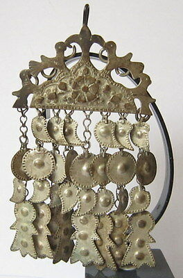 AMAZING ANTIQUE 1800s. SILVER JEWELRY PENDANT # 734