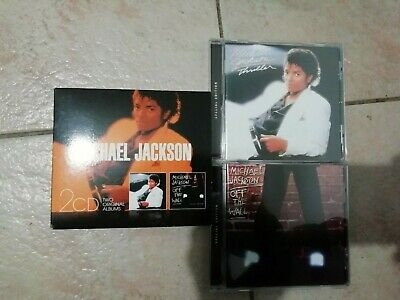 Coffret 2 cd Michael Jackson Thriller + Off the wall