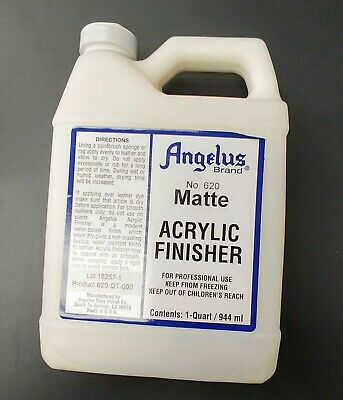 Angelus Brand Acrylic Leather Paint Matte Finisher No. 620 - 16oz
