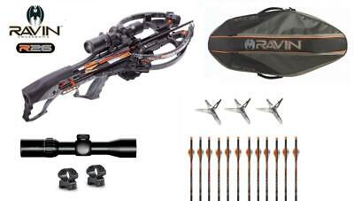 New Ravin Crossbow Black and Orange Soft Bow Case Fits R26 and R29 Model  # R181
