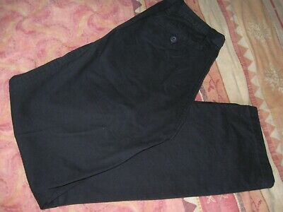 Smart trousers W28 L32  navy chinos VGC cotton  Mens Boys