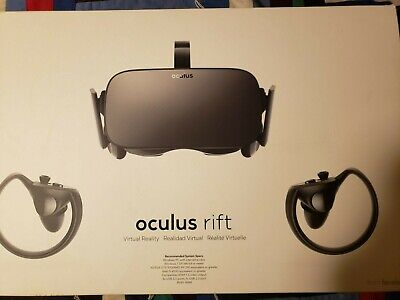Oculus Rift Headset Controllers Sensors Virtual Reality VR System Tested