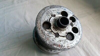 VINTAGE A.M. MARKED F.63 AIRCRAFT WHEEL HUB. 27A/1330. 4.00 x 3 1/2