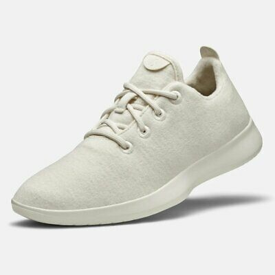 Allbirds Men's Wool Runners Natural White Sole Comfort Shoes 9M NW/OB