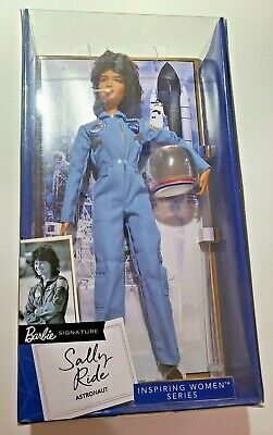 NEW MATTEL BARBIE Inspiring Women: American Astronaut SALLY RIDE COLLECTOR DOLL