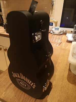 Jack Daniels Limited Edition Guitar Case JD Gift Box With Stopper New No Bottle